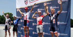 Peter Megdal – National Championship podium